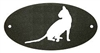 Door Plaque- Cat Design