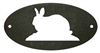 Door Plaque- Rabbit Design