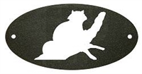 Door Plaque- Raccoon Design