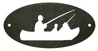 Door Plaque- Fisherman Design