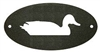 Door Plaque- Duck Design