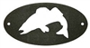 Door Plaque- Walleye Design