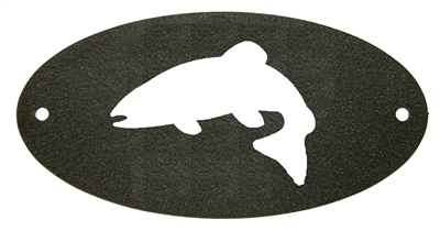 Door Plaque- Trout Design