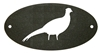 Door Plaque- Pheasant Design