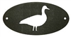 Door Plaque- Goose Design