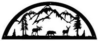 Door Topper- Moose, Bear, Deer Design