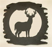Rustic Metal Trivet- Deer Design