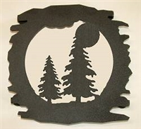 Rustic Metal Trivet- Tree Design