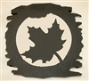 Rustic Metal Trivet- Maple Leaf Design