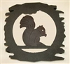 Rustic Metal Trivet- Squirrel Design
