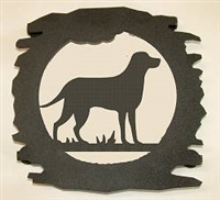 Rustic Metal Trivet- Lab Retriever Design