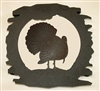 Rustic Metal Trivet- Turkey Design