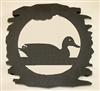 Rustic Metal Trivet- Sitting Duck Design