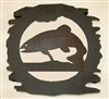 Rustic Metal Trivet- Trout Design