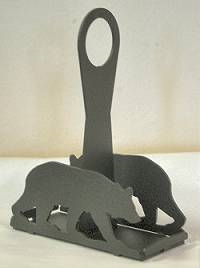 Salt & Pepper Shaker Holder- Bear Design