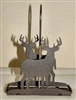 Salt & Pepper Shaker Holder- Deer Design