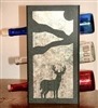 Metal Countertop Wine Bottle Rack- Deer Design