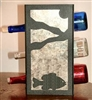 Metal Countertop Wine Bottle Rack- Pan Fish Design