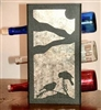 Metal Countertop Wine Bottle Rack- Chickadee Design