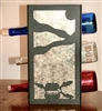 Metal Countertop Wine Bottle Rack- Fly-Rod Fish Design