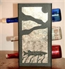 Metal Countertop Wine Bottle Rack- Muskie Design