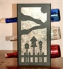 Metal Countertop Wine Bottle Rack- Birdhouse Design