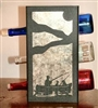 Metal Countertop Wine Bottle Rack- Fisherman Design