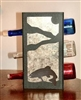 Metal Countertop Wine Bottle Rack- Trout Design