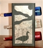 Metal Countertop Wine Bottle Rack- Goose Design