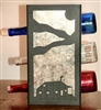 Metal Countertop Wine Bottle Rack- Cabin Design