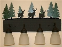 3-D Bath Lighting- Deer Design