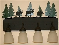 3-D Bath Light- Moose Design
