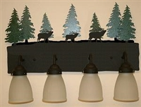 3-D Bath Light- Elk Design