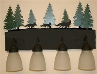 3-D Bath Light- Fox Design