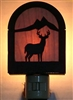 Rustic Decorative Night Light- Deer Design