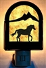 Rustic Decorative Night Light- Horse Design