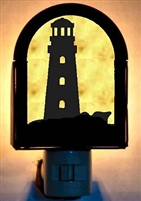 Rustic Decorative Night Light- Lighthouse Design