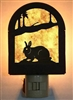 Rustic Decorative Night Light- Rabbit Design