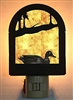 Rustic Decorative Night Light- Duck Design