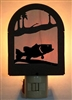 Rustic Decorative Night Light- Bass Design