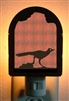 Rustic Decorative Night Light- Roadrunner Design