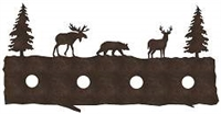 Bath Vanity Light - Moose, Bear, Deer Design