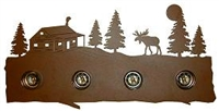 Bath Vanity Light - Moose and Cabin Design