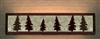 Valance Style Bath Vanity Light - Tree Design