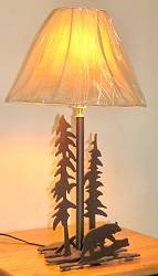 Heavy Steel Table Lamp- Bear Design