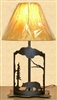 Metal Art Table Lamp- Bear Design