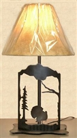 Metal Art Table Lamp- Turkey Design