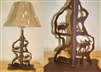 Scenery Style Table Lamp- Moose, Bear, Elk Design