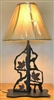 Scenery Style Table Lamp- Maple Leaf Design
