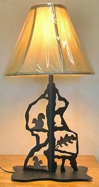 Scenery Style Table Lamp- Squirrel Design